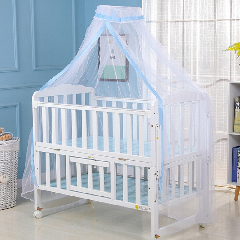 Baby Kids Bed Bedcover Dome Cots Mosquito Net Hanging Cotbed Canopy Crib Tent UK