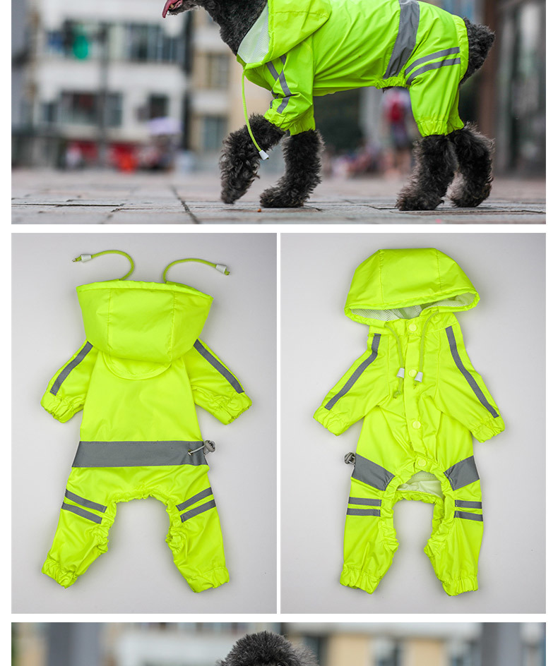 Dog Rain Coat (8)