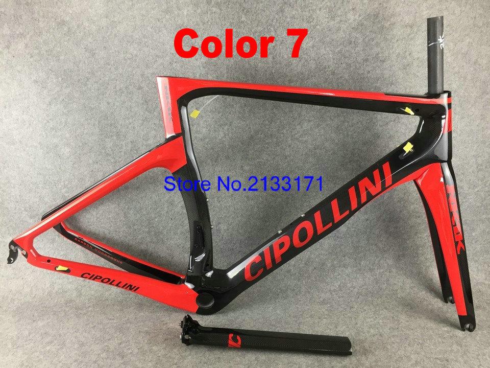 7 Cipollini NK1K 3K Di2 Carbon Bike Frame