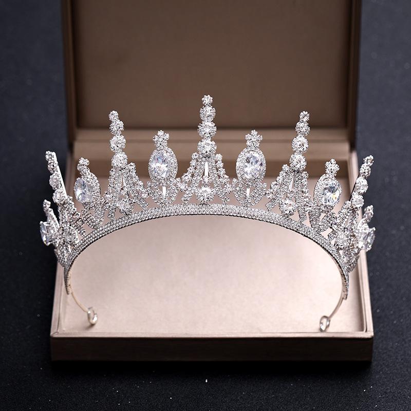 Hochzeit Braut Festzug Prom Mädchen Kind Kindergeburtstagsfeier Krone Stirnband