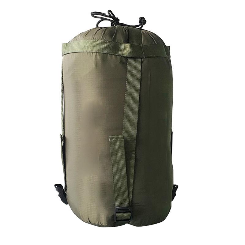 Mesh Aufbewahrungstasche Outdoor Ultra Licht Mesh Zeug Sack Nylon Kompression Schlaf Stuff Aufbewahrungstasche Sack f/ür Camping Wandern Tasche