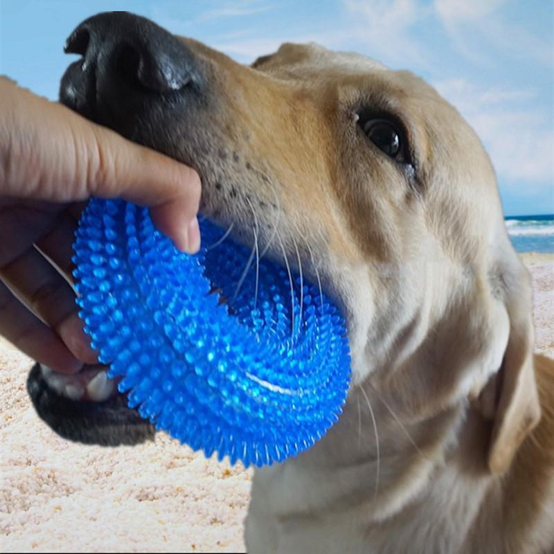 Schutz f/ür Hunde mit Griffen Backbayia Kaukissen zum Bei/ßen