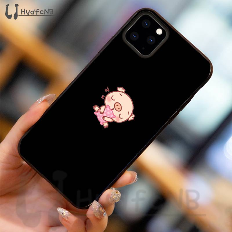 Cartoon cute pig