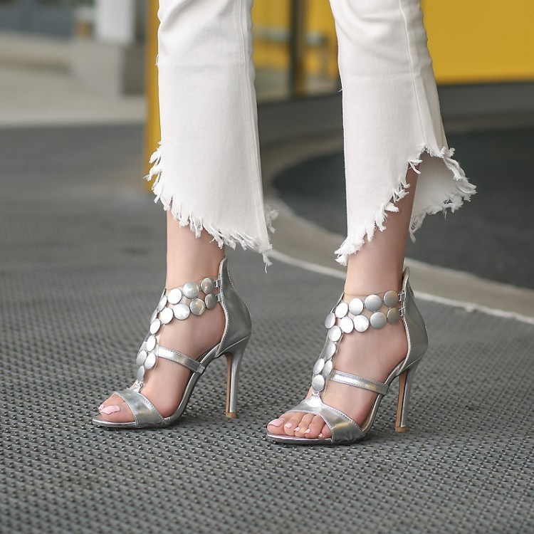 Hot2019 A With High String Of Beads Sandals Size 323344-46 Code Women's Shoes