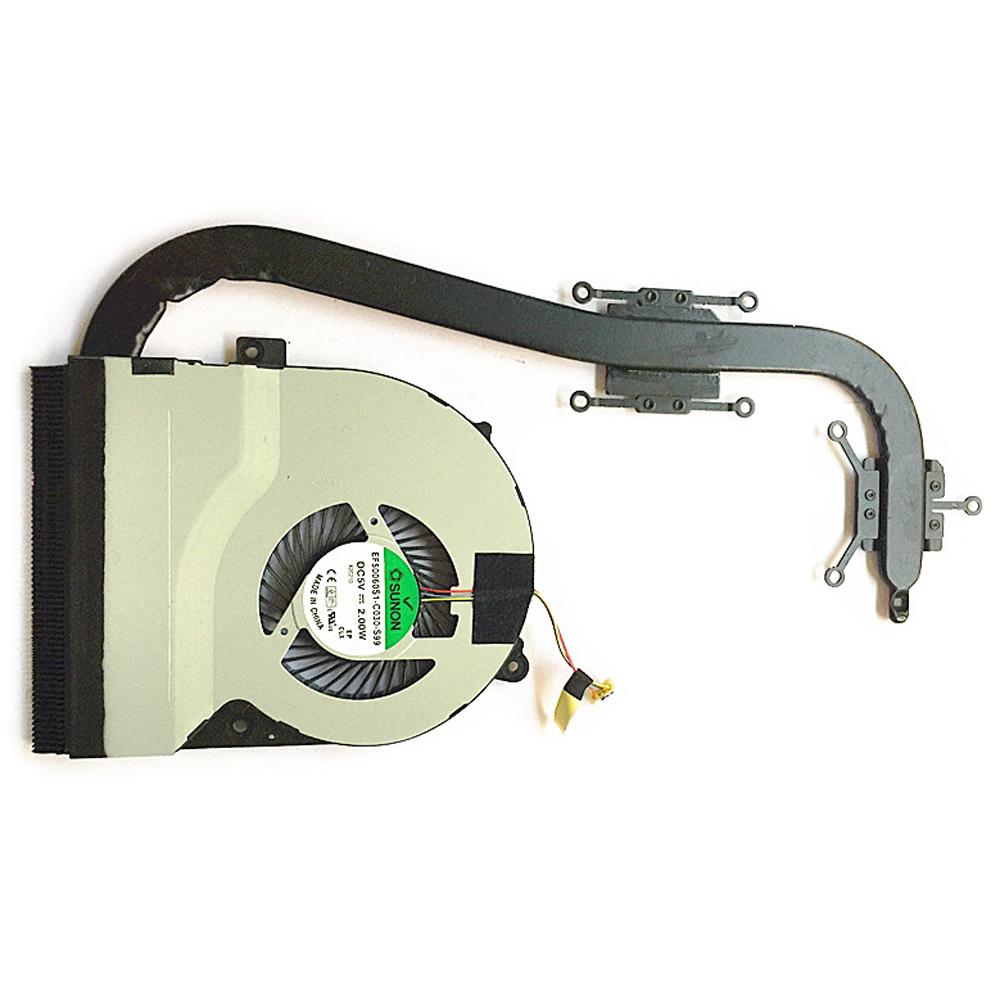 X55VD NUOVO ORIGINALE per Asus X55VD X55V Laptop CPU Ventola Di Raffreddamento /& Dissipatore Di Calore Radiatore