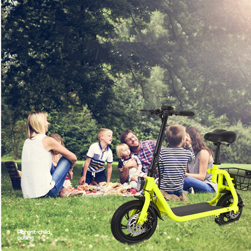 Daibot Electric Scooter For Kids Two Wheel Electric Scooters 12 inch Brushless Motor 350W 36V Portable Adult Electric Bike (4)