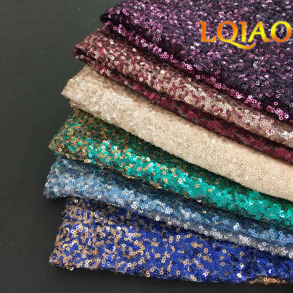 All Color Sequin Fabric