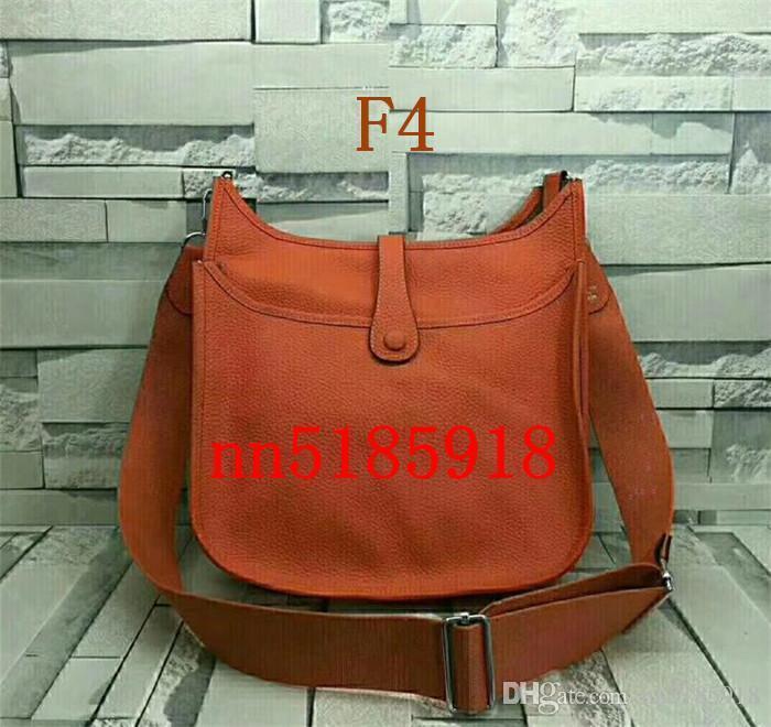 2019 European And American Style Lychee Handbag Handbag Ladies Messenger Bag H Single Shoulder Factory Price Large Siz 30 * 28 * 10cm