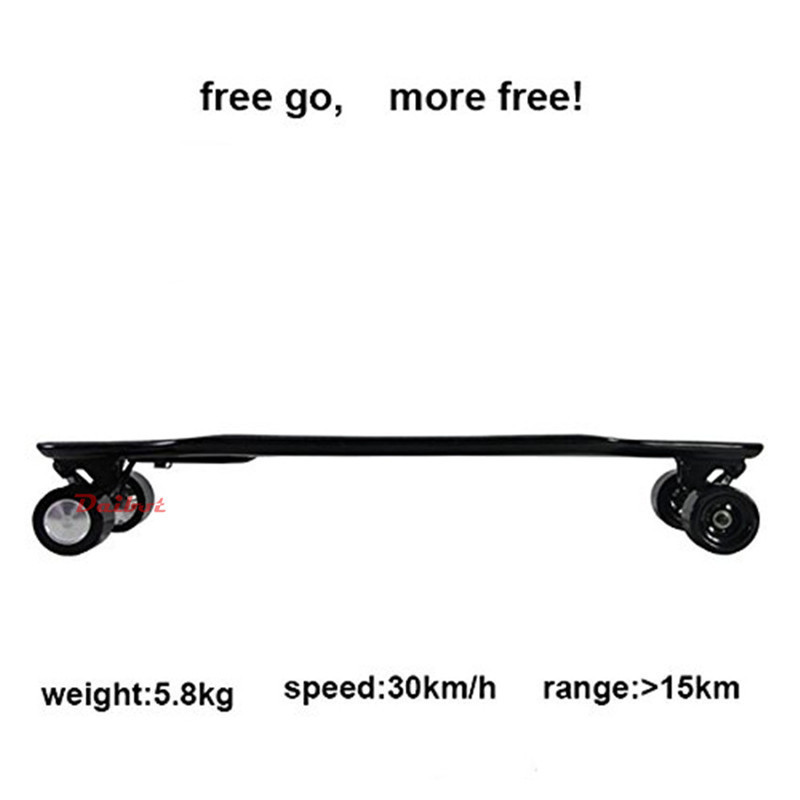 Daibot 36V Electric Scooter Four Wheel Electric Scooters 600W Brushless Hub motor 30KMH Electric Skateboard Scooter For Adult (6)