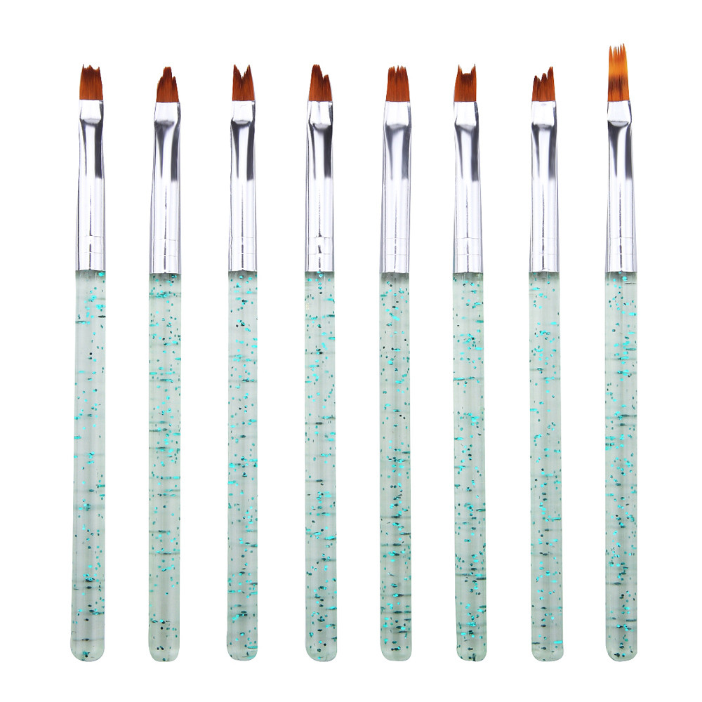 Nail Tools Nail Acrylic French Acrylic Gel Painting Pen Set Nail Art Brush Manicure Drawing Tools Drop shipping Set28