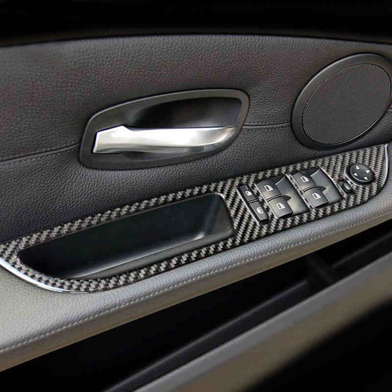 Aluminum Handbrake Brake Handle Cover Fit For BMW X1 E90 E91 F30 F31 3 Series CC