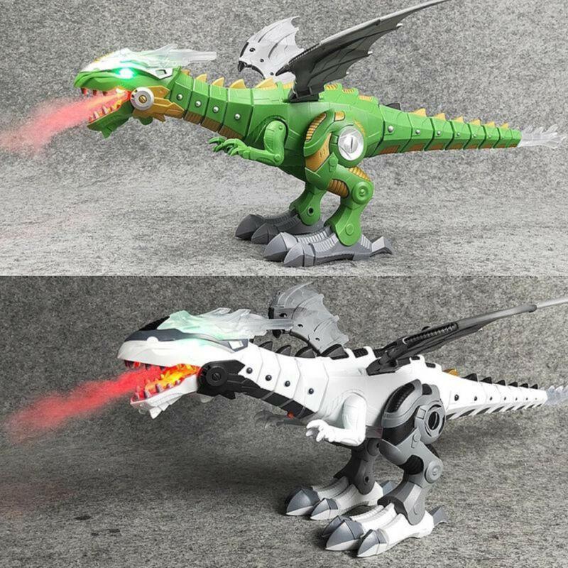 walking Fire Dragon /& Dinosaurs For Games,Kids Toys  Christmas gift jorasic LEGO