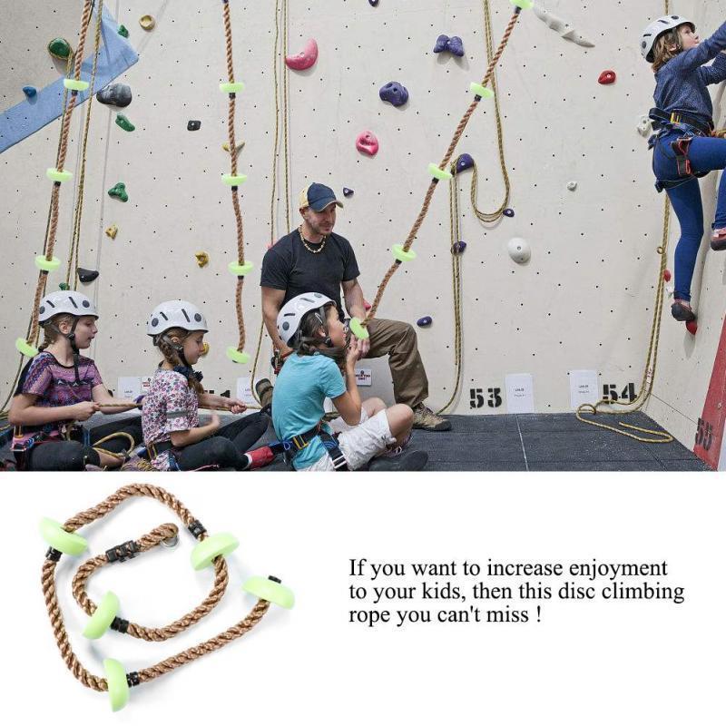 Lustige kinder kletterseil Schaukel Disc Kletterseil Kinder Kinder Garten Spielplatz Hinterhof Outdoor Schaukel Spiele Ausrüstung Spielzeug D19011702