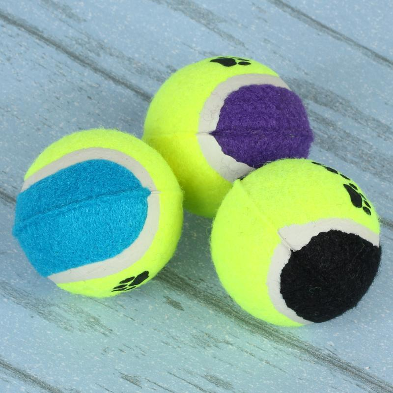 6.5c Mtennis Ball For Pet Dog Chew Toy Pet Toy Ball Small Dogs Supplies Cricket Puppy Play Toys For Dog Balls Games Pet Products