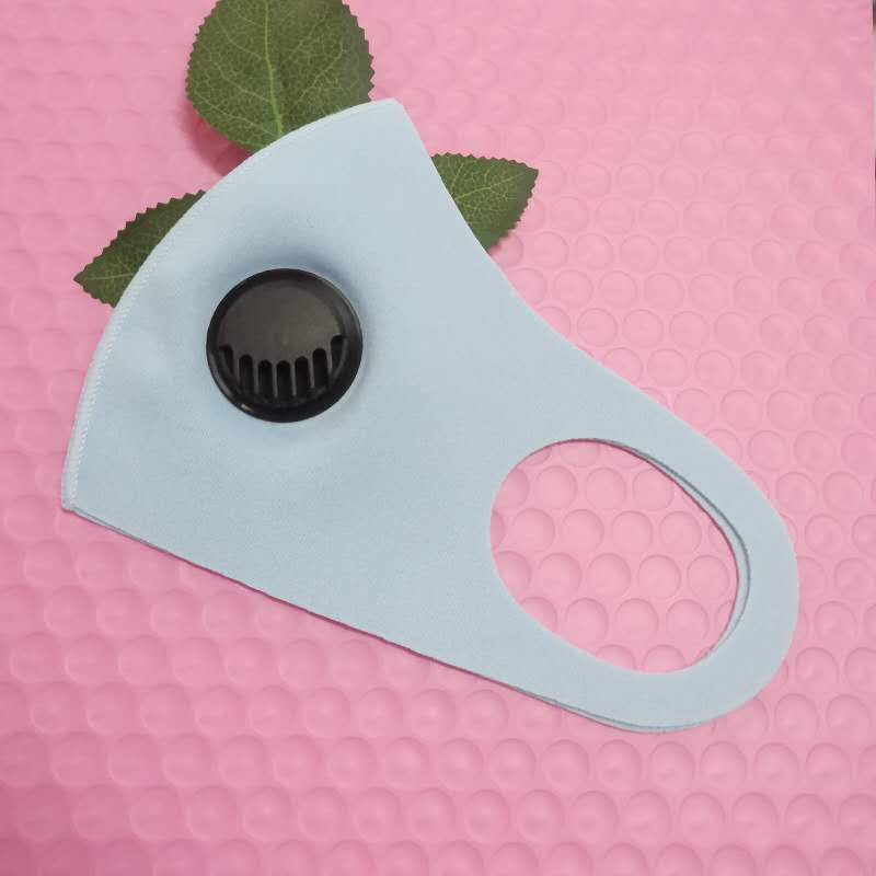 Ready to Ship!Durable Disposable Face Mask Cotton Cloth Mouth Mask with Respirator Designer Mask By UPS
