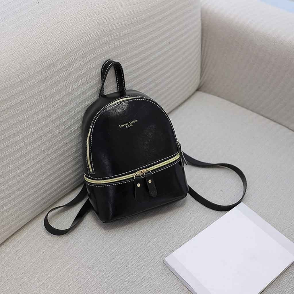 New Designer Fashion Women Backpack Mini Soft Touch Multi-function Small Backpack Female Ladies Shoulder Bag Girl Purse 2019 O18