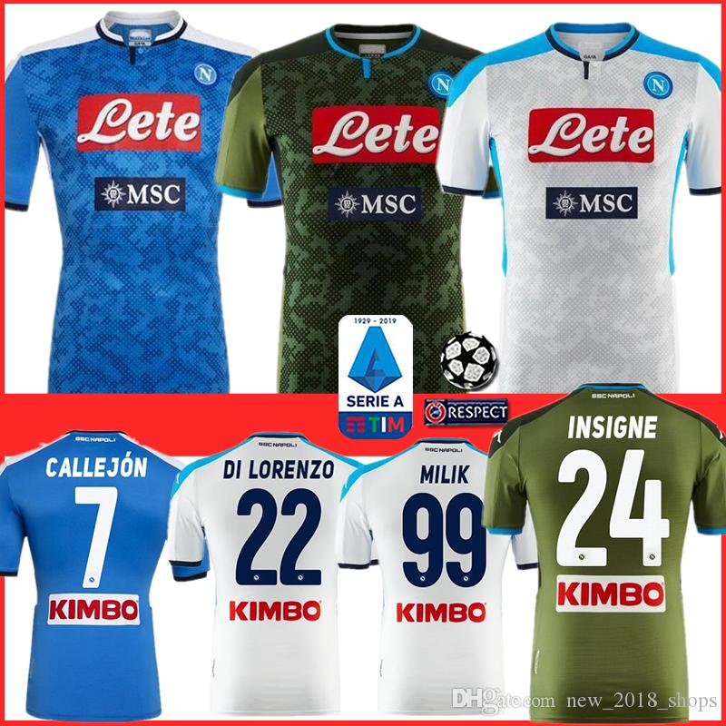 Wholesale Napoli Jersey - Buy Cheap in
