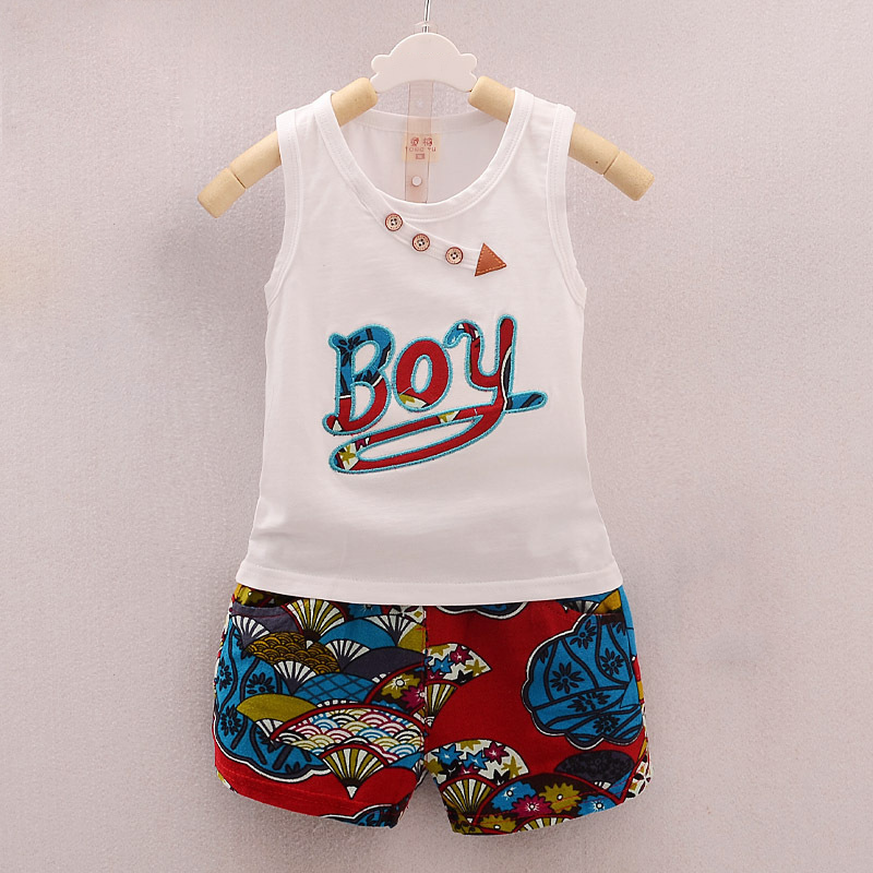 BibiCola-2017-Summer-Baby-Boy-Clothing-Set-Sleeveless-Top-Vest-Shorts-pants-Kid-Clothing-Sets-Children