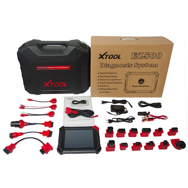 Original XTOOL EZ500 Diagnosis System with WIFI Support Android System and Online Update Same As Xtool PS80 PS90