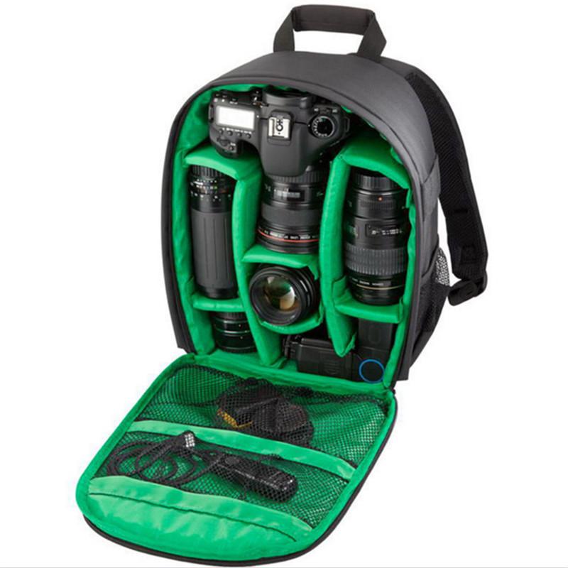 Multi-functional Camera Backpack Video Digital DSLR Bag Waterproof Outdoor Camera Photo Bag Case for Nikon for CanonDSLR (9)