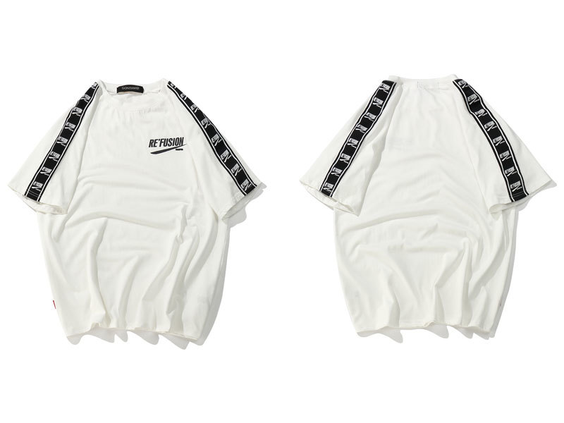 Ribbon Sleeve T-Shirt 8