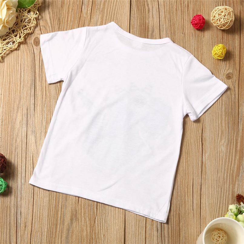 Summer Boys Clothes Toddler Kid Baby Boys Cartoon Printing T-shirt+Short Pants Clothes Outfits Set NDA84L18 (6)