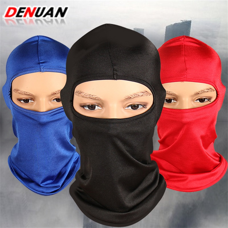 Spring Men Women Ski Mask 3 Hole Full Face Sun Protection Dust Proof Mouth Cover