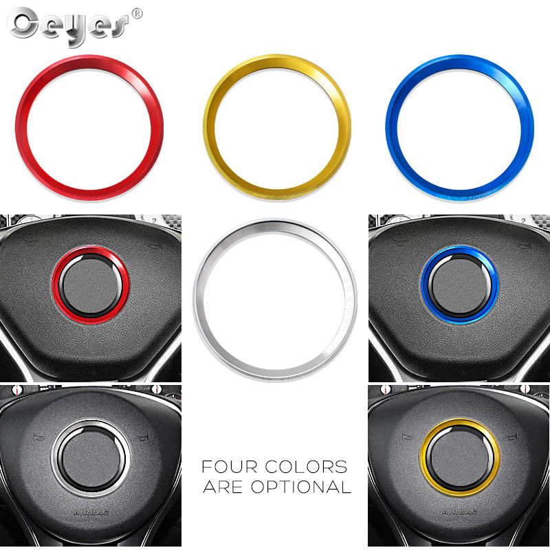 Car steering wheel decoration circle ring sticker for MERCEDES (19)