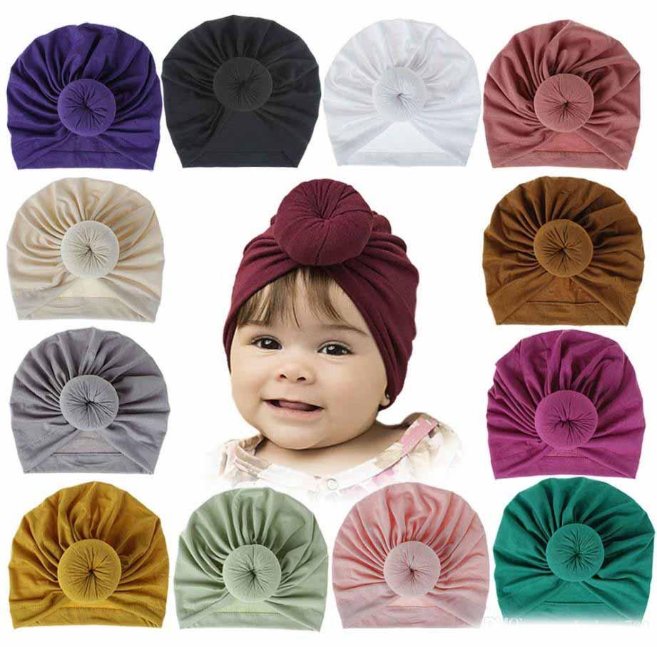 Para Recién Nacidos Sombrero De Niño Turbante Para Niños Cinta Para Bebés