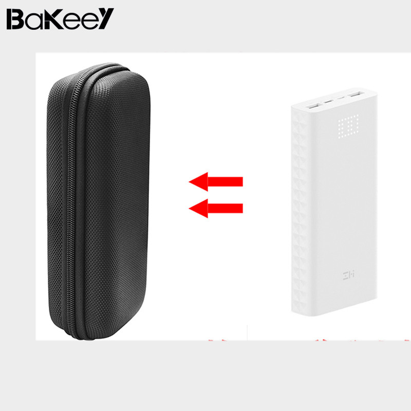 wholesale Waterproof Power bank Organizer Bag for ZMI QB821 Case Cover Large Saize USB Cable Earphone Chager adapter Storage bag
