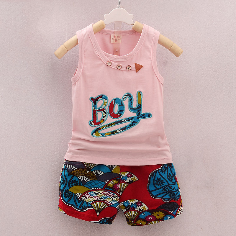 BibiCola-2017-Summer-Baby-Boy-Clothing-Set-Sleeveless-Top-Vest-Shorts-pants-Kid-Clothing-Sets-Children (5)