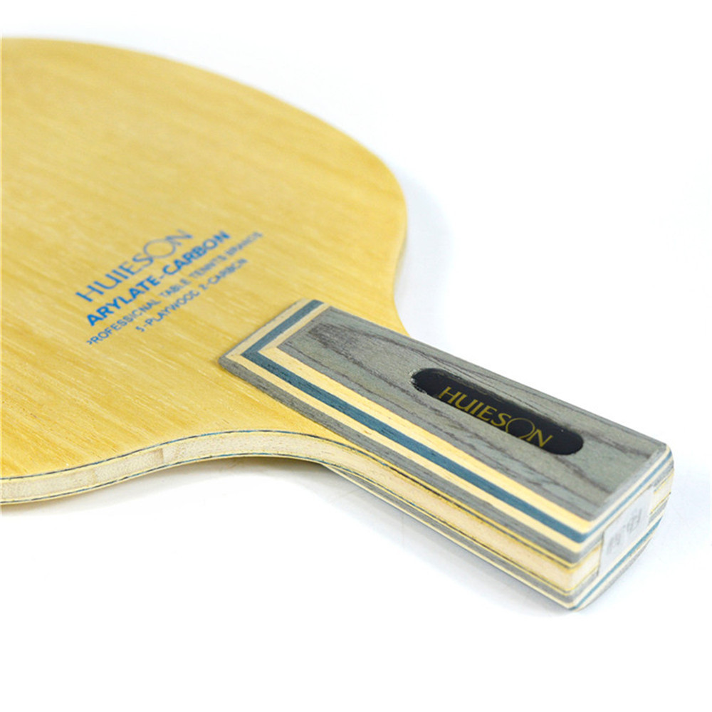 Huieson 7 Ply Arylate Carbon Fiber Table Tennis Blade Lightweight Ping Pong Racket Blade Table Tennis Accessories (4)