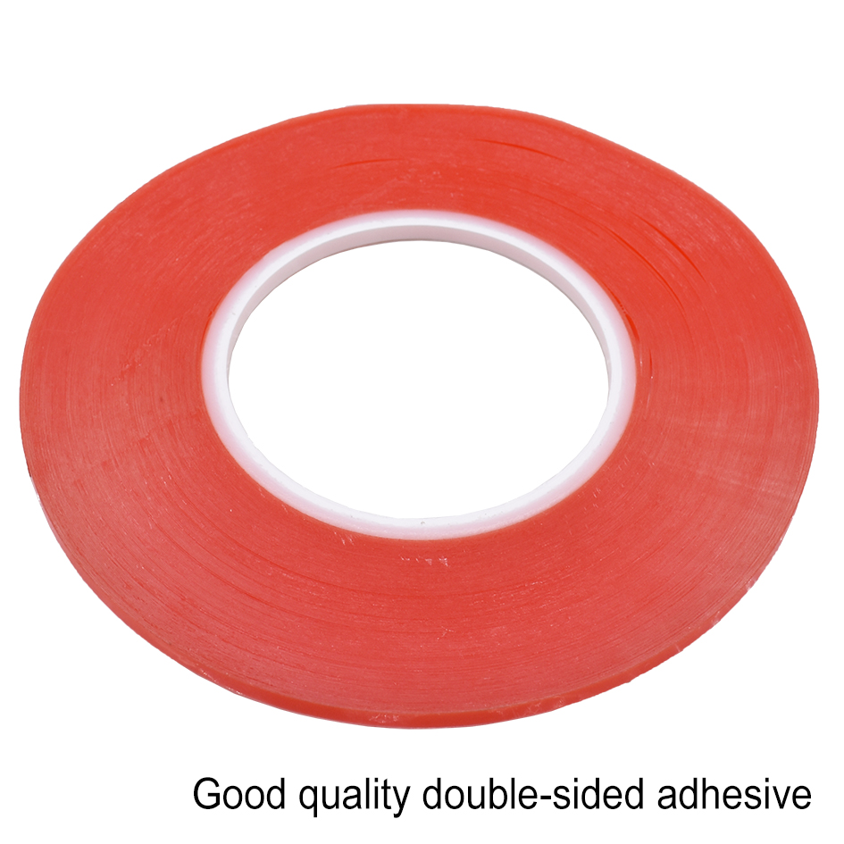 2mm x 164ft Black Double Sided Adhesive 3M Tape For Cell Phone LCD Camera Screen