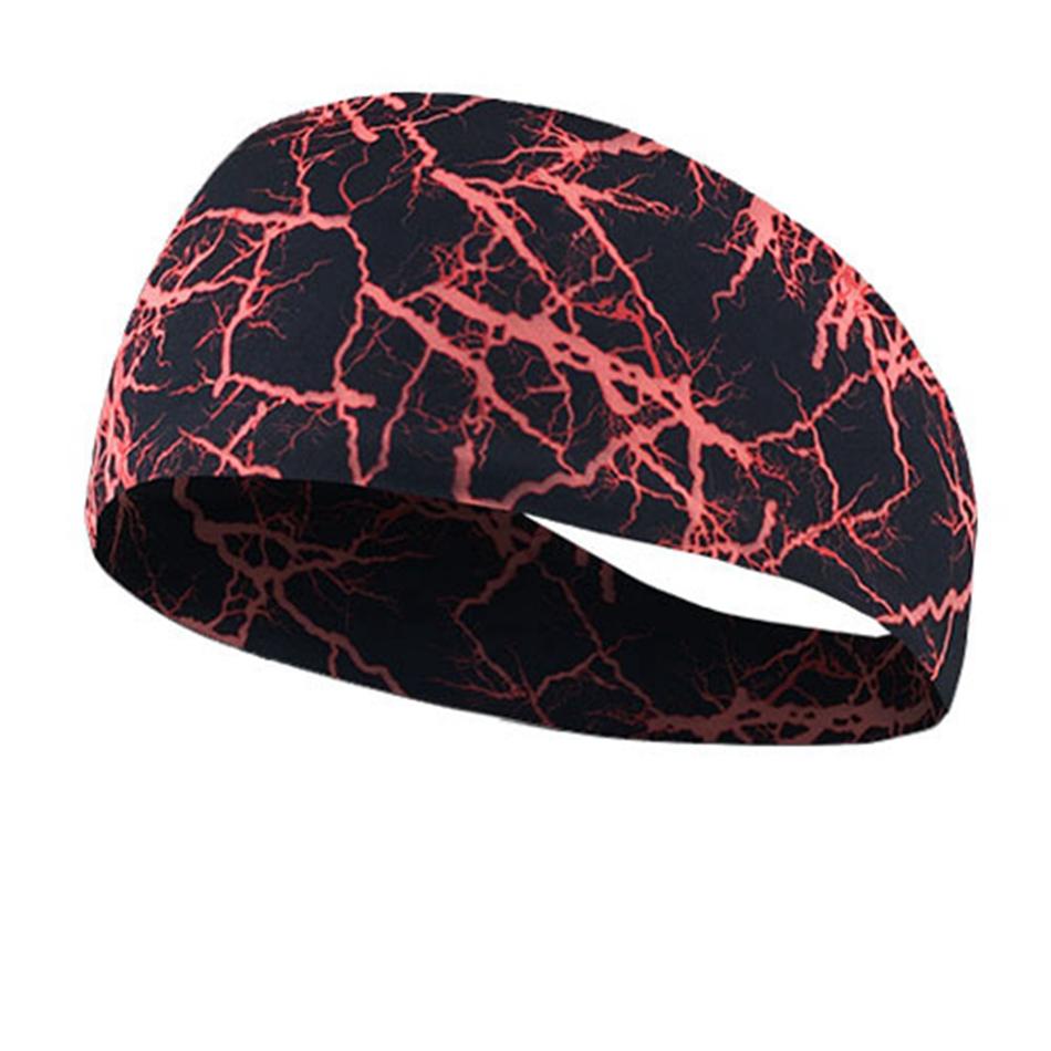 Headwear Headband Autumn Green Tree Head Scarf Wrap Sweatband Sport Headscarves For Men Women