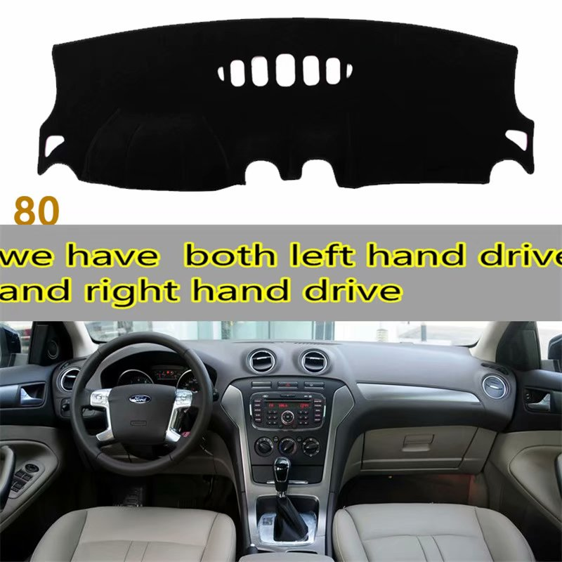 Blue Dashboard Pad Dash Cover Mat For 2010-2014 Ford Mustang