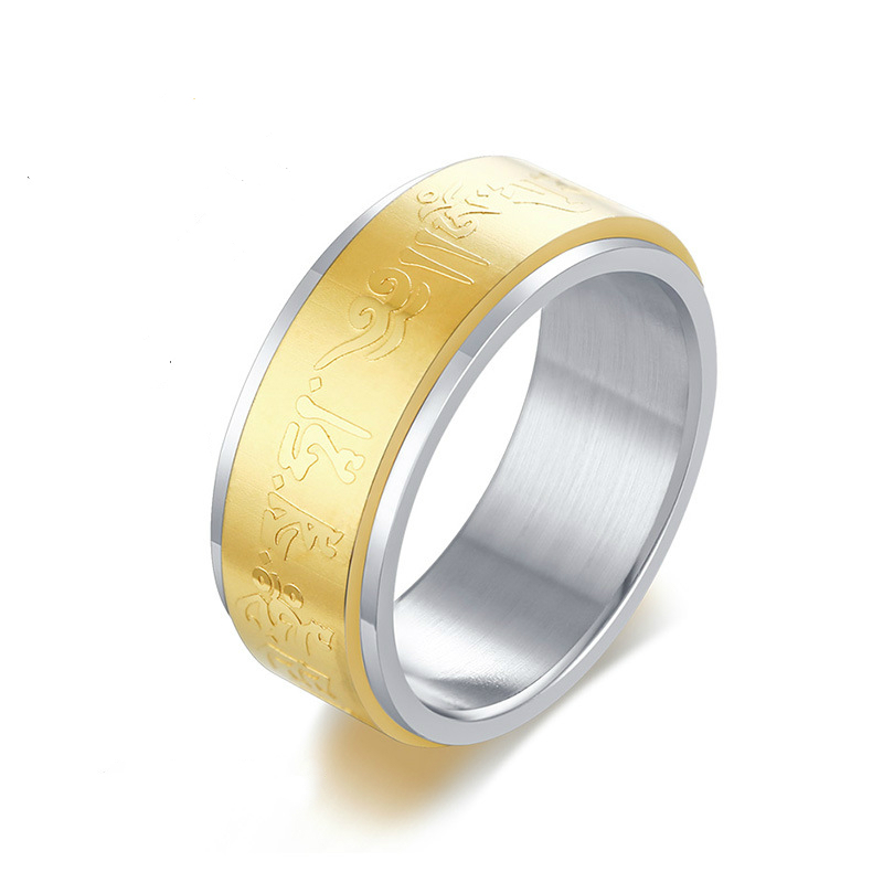 USA vendeur spinner ring sterling silver 925 Unisexe Bijoux Cadeau Taille Sélectionnable