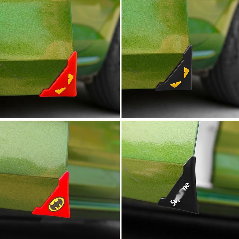 BESTEU Auto Sto/ßf/ängert/ür Antikollisionsschutz Dichtungsstreifen Universelle T/ürkante Anti-Kratz-K/örperschutzleiste Dekoration