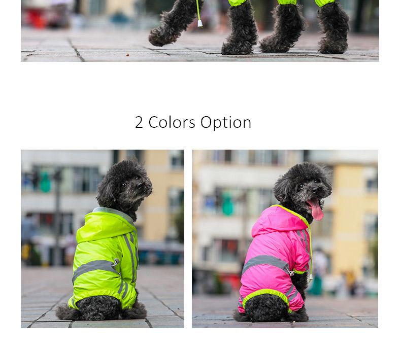 Dog Rain Coat (4)