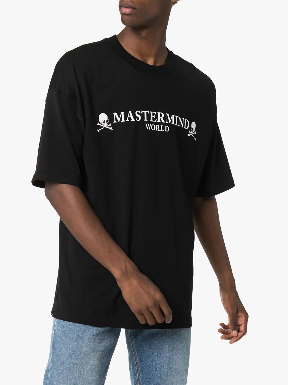 2020 Europea Fashion Tide Round Collar Printing Of Skull Cotton Shirt For Men Clothing mens 11281
