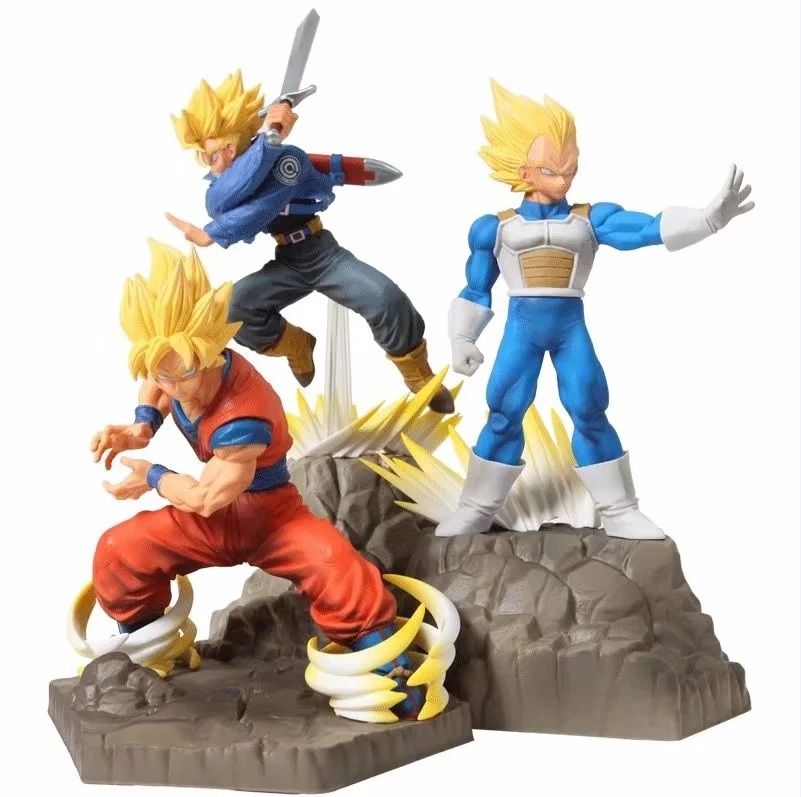 "15.5/"" Large New Dragon Ball Z Figure GOKU Movable Doll  Birthday Present"