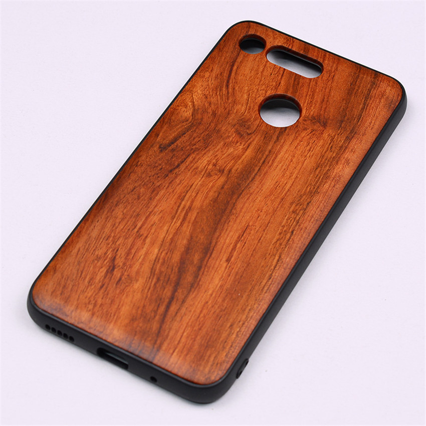 BOOGIC Original Wood Phone Case For Huawei Honor View 20 V20 V10 Wood +TPU Cover For Honor 8x Play 10 Ultra-Thin Wooden Coque (23)