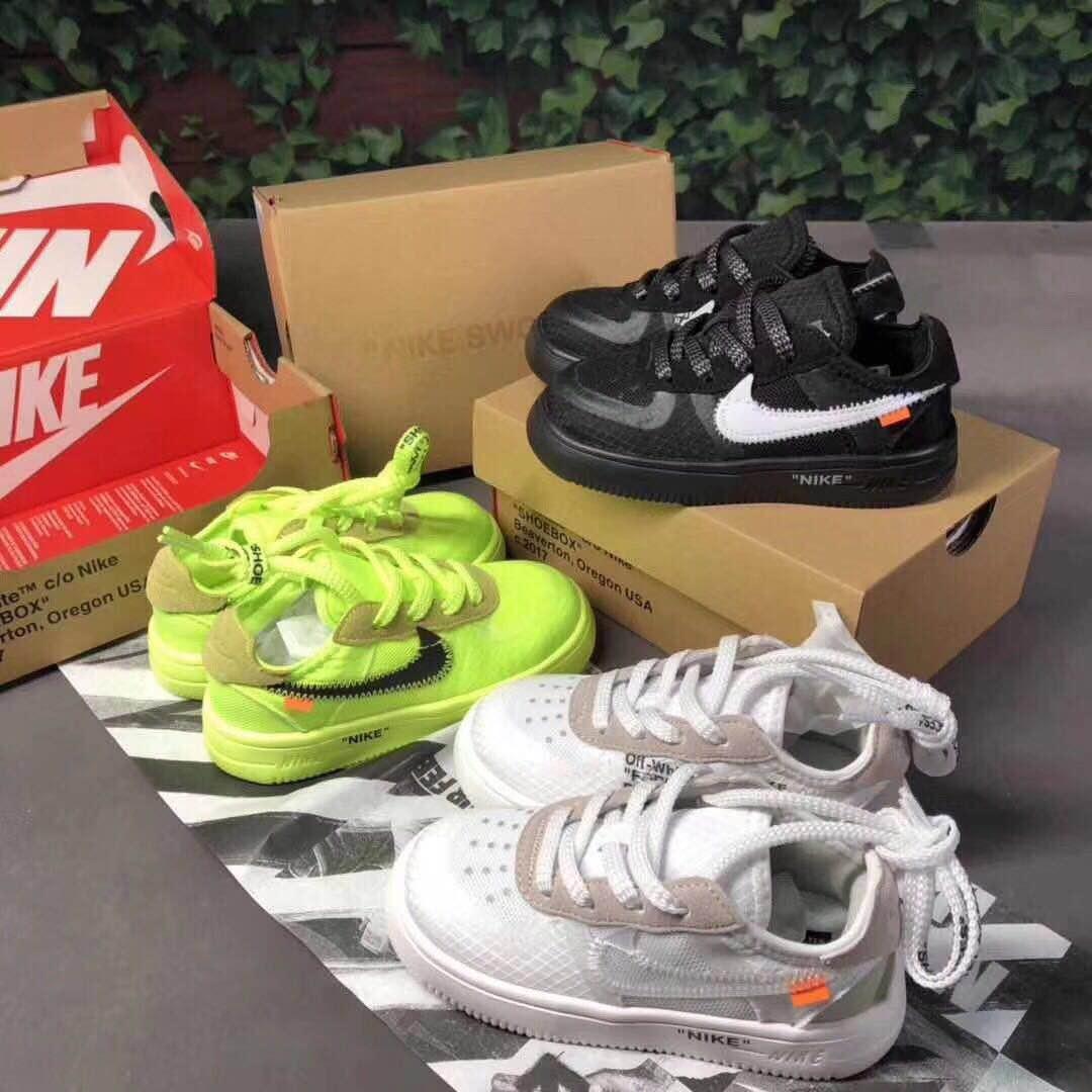 Nike Air Force 1 2019 Enfants Athlétique Air 27 ans Chaussures de basketball Wolf Gris Enfant Sport 27c Sneaker Maxes Garçon Fille Enfant Toddler