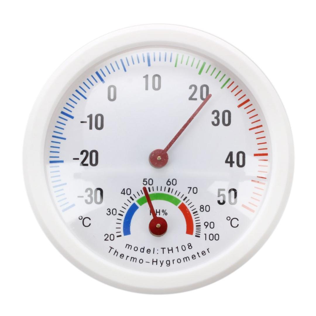 Mini tour-horloge en forme de Intérieur//Extérieur Hygromètre Humidité Thermomètre Mètre