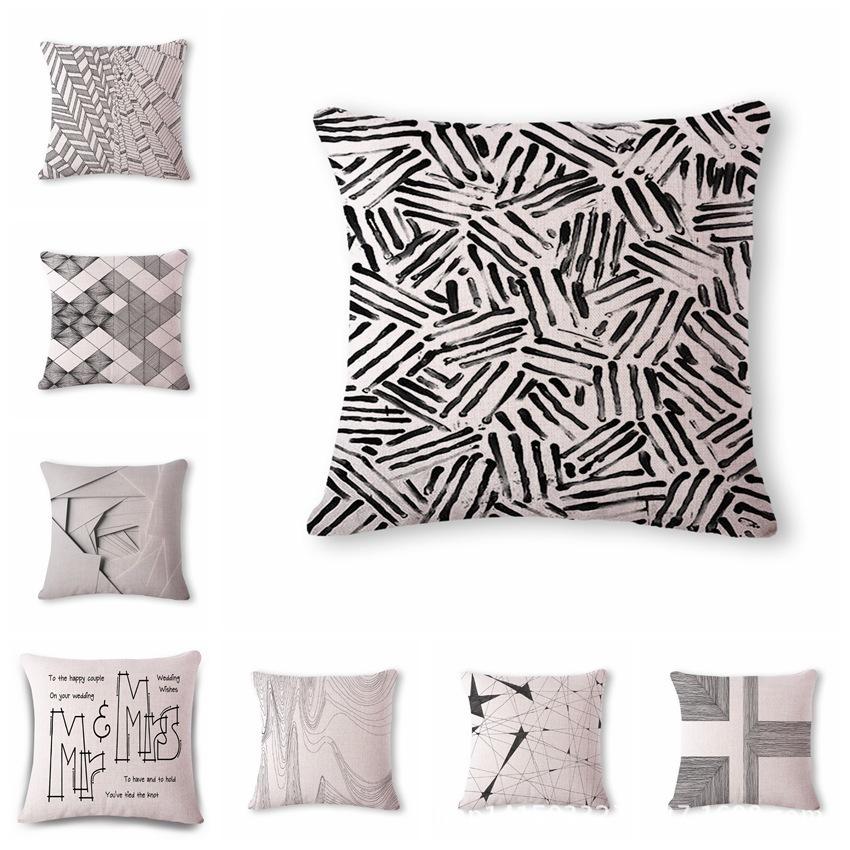 Blue Ridge Trading Wolf Jacquard Pillow One Size Gray & White ...