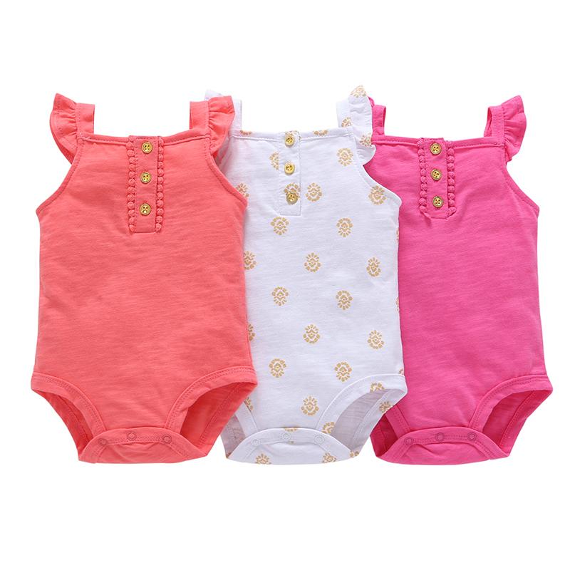 3pcs of set .kids bebes baby boy girl clothes set kids bebes bodysuit summer clothing set 2018 new model
