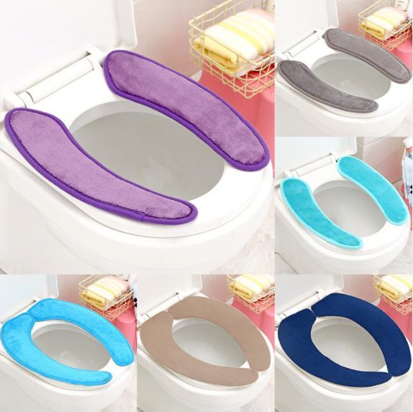 BESTEU Badezimmer WC-Sitzkissen WC-Sitzbezug Weiches WC-Sitzkissen Lid Pad Home Decoration