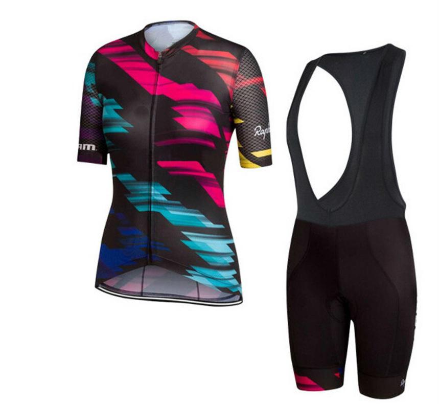 2019 Mens Sports Bike Team Cycling Jersey Short Sleeve shirt bib shorts Set A13