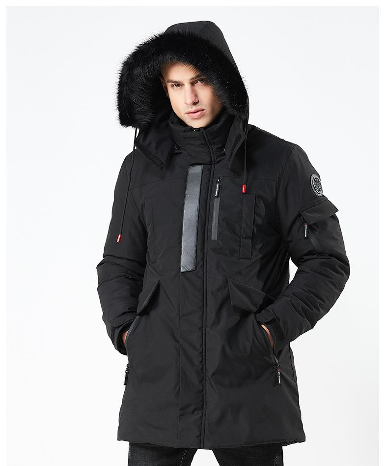 Winter Berühmte Lässig Design Winterjacke Mantel Mode Fit Minus Dicke Warme Parka Von Großhandel Grad Mittellange 20 Männer Für 4qRLA35j