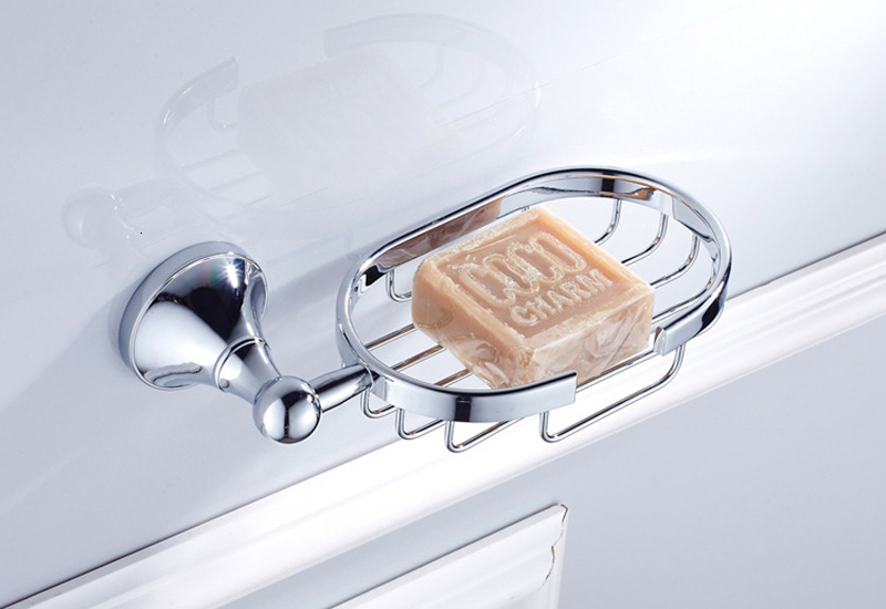 chrome soap basket 1