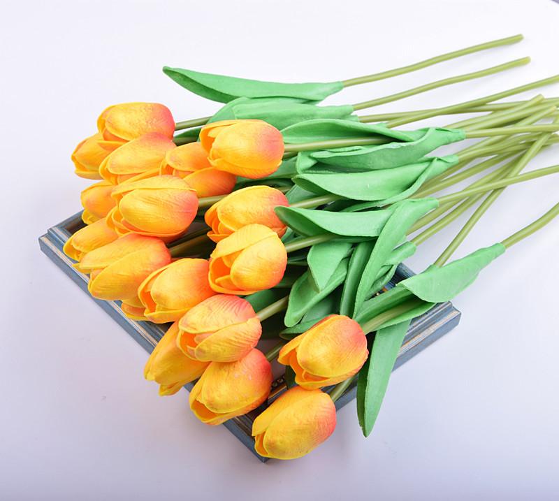 Lillies tulipes Floral Beige Bleu Belle housse de coussin feuilles. Turquoise